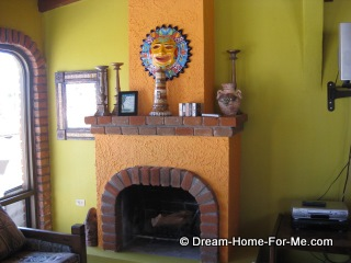 Chachalas 22 fireplace