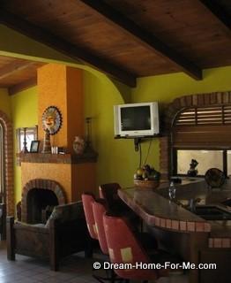 Chachalas 22, left of kitchen, Las Gaviotas, Rosarito Beach