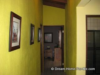 Las Chachalas 22 upstairs hallway, Las Gaviotas, Rosarito Beach